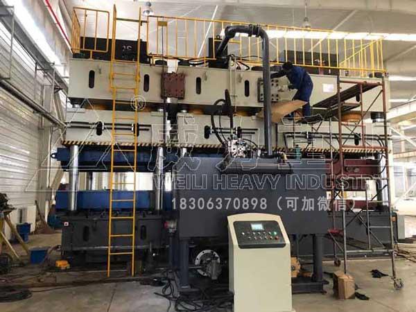 4000吨多缸联动压力机(波形钢腹板冲压油压机)