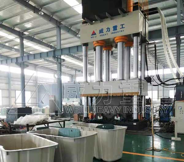 复合材料热压成型压力机2000吨四柱压力机
