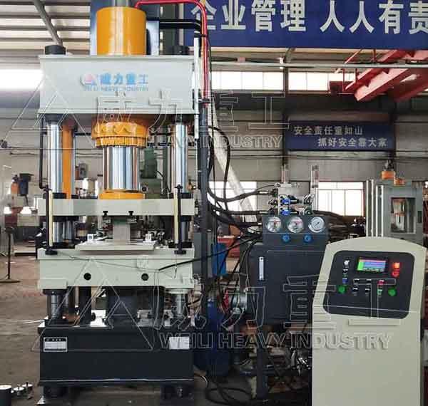 陶瓷粉末压型机200吨伺服四柱压力机