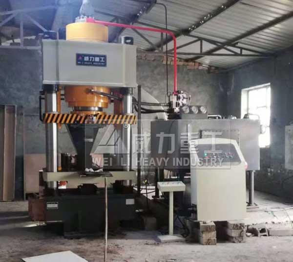 粉末冶金成型机800吨金属粉末压块机